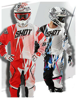 Shot MX Gear Jersey & Pants Combo. Not Fox, Thor, Shift, Alpinestar, Seven, Fly
