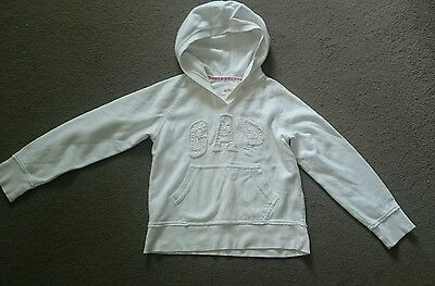 GAP girls hooded / hoody jumper. Size 8-9