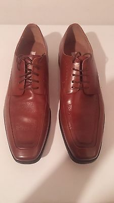 Size 12 Steve Madden Brown Leather Dress Shoes