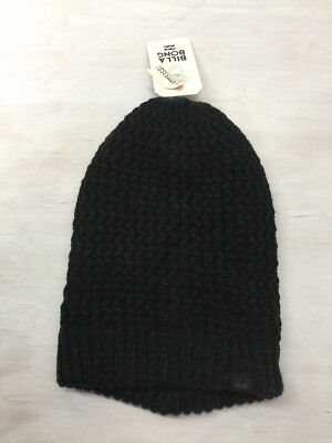 Billabong Frankie Beanie Black/blue BNWT