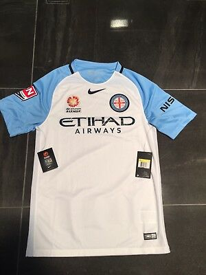 Melbourne City Fc Player Issue Home  Shirt Size Large