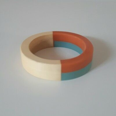 Bangle Wood and Resin Handcrafted