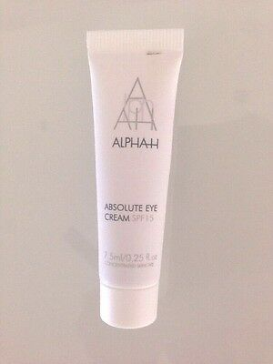 ALPHA-H ABSOLUTE EYE COMPLEX with Cucumber & Vitamin B5 - 7.5ml - NEW - SALE!!!