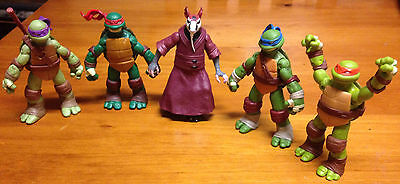 Teenage mutant ninja turtles (action figures)