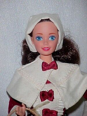 1994 PILGRIM BARBIE DOLL AMERICAN STORIES COLLECTION SPECIAL EDITION loose