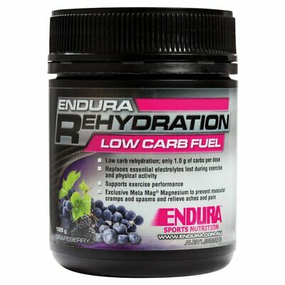 Endura Rehydration Low Carb Fuel 128gr Tub - in 2 flavours