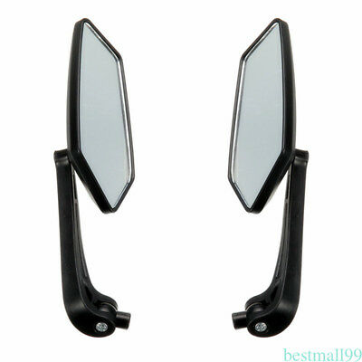 1 Pair Motorcycle Rear View Mirrors Durable Backup Mirror For Electric Vehicle