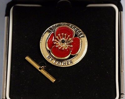 "Lest We Forget Lapel Badge ""My Father"""