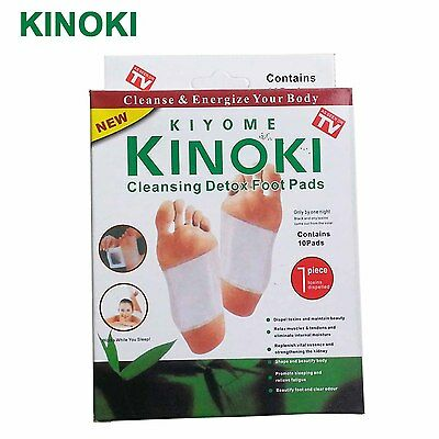 Kinoki Detox foot pads patches-With Box-Healing Weight Loss and Stress UK Stock
