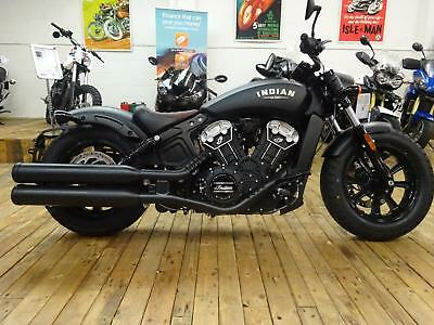 Indian Scout Bobber Matt Black