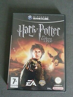 "Jeu Nintendo Gc Gamecube Pal Fr "" Harry Potter Et La Coupe De Feu "" Game Cube"