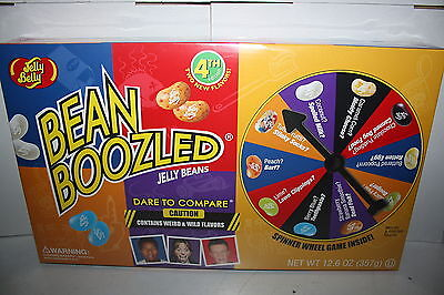 Jelly Belly BEAN BOOZLED Spinner Wheel Game 4th edition 357g large gift box