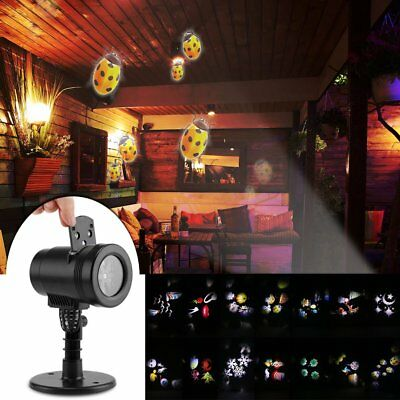 14 Image Paysage Moving Mobile Laser Projecteur Lawn Light Wall Vacances Lamp
