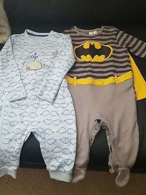 baby boys outfits x2 3-6months