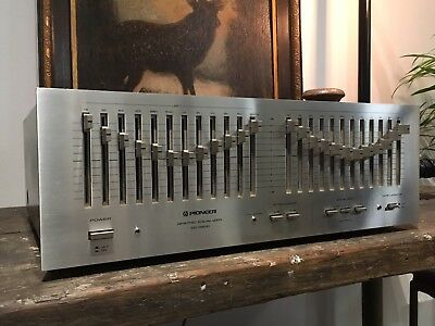 Pioneer SG-9800 Equaliser  silver face VGC With Issue