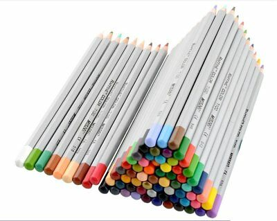 Marco Professional Wooden Art Drawing Colored Pencils Set, Soft Core