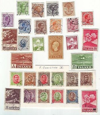 Old  Europe     Kings  & Volcanos     Mint & Used   == 30 ==