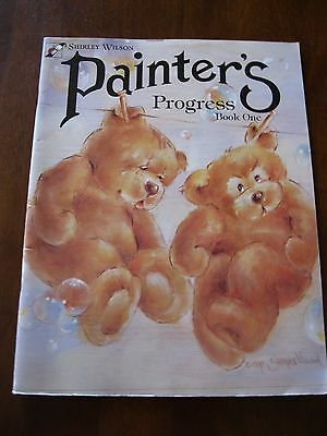 Shirley Wilson Painter's Progess: Book one: 1997:Painting Patterns  :Preloved