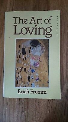 The Art of Loving by Erich Fromm (Paperback, 1975). Counselling book.