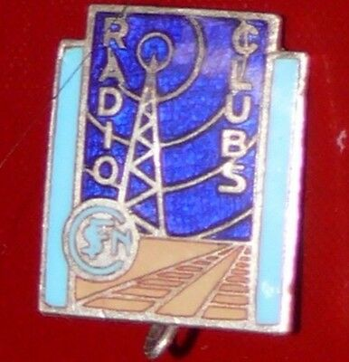 Broche Radio Clubs Sncf