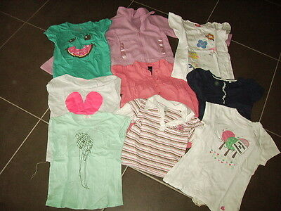 Bundle Of Girls Clothes - Size 7 - Cotton On, Milkshake, Etc - 9 Items