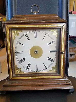 Antique Mother of Pearl Mantel Clock Case Parts and repair