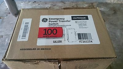 Tc10323R Ge 100 Amp Transfer Double Throw Switch