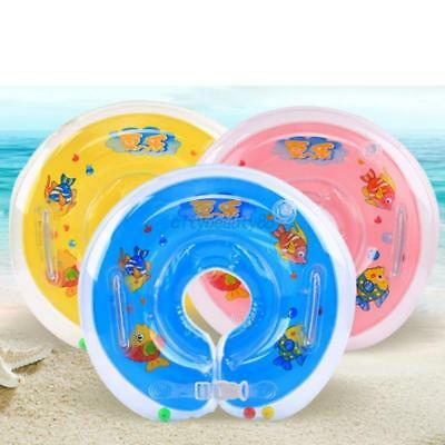US Baby Kids Neck Float Collar Swimming Protector Ring Inflatable Safety Tube
