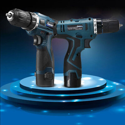 24V Drilling Double Speed Electric Drill Lithium Rechargeable Gunl Screwdriver