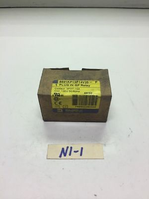 New! Square D Plug In GP Relay 8501KP13P14V20 *Fast Shipping* Warranty!