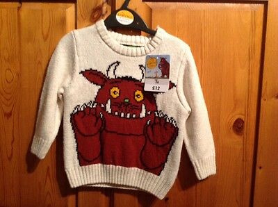 BRAND NEW GRUFFALO JUMPER WITH TAGS 9-12 Months   ?7.00 - PicClick UK