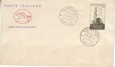 Italy - Special Events, People & Anniversaries (5no. PO/Other  FDC's) 1959-62