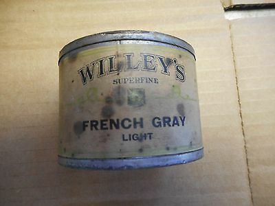 Vintage  willeys  carriage &  auto  Paint Can lead seal long island n.y  RARE