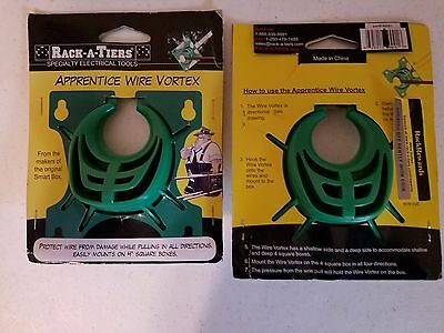 """Rack-A-Tiers Apprentice Wire Vortex Cable and Wire Pulling Guide for 4"""" Sq Box"""