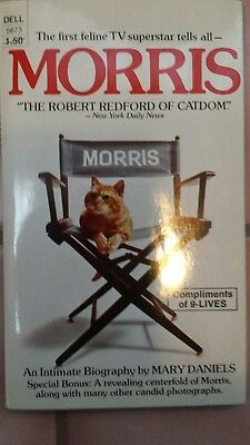 Vintage copy of Morris the Cat An intimate biography