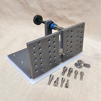 "D-D Work Rest Adjustable Knife Grinding Jig 6"" x3"", Center Sliding Support Pin"