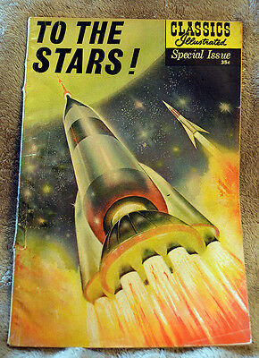1961/Vintage Comic/Classics Illustrated#165A/To The Stars Special Issue