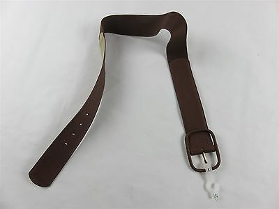 Target Women's Wide Brown Fashion Belt With Back Stretch For Perfect Fit Medium