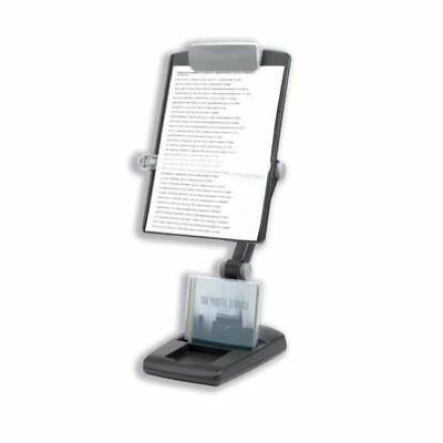 Fellowes Weighted-Base Copyholder Graphite 9169801 [BB52978]