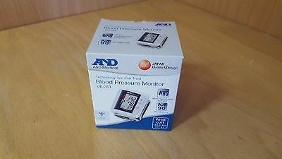 A&D Medical Advanced Wrist Blood Pressure IHB Monitor Compact UB-351 (hyd66335^*
