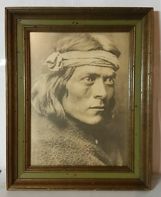 Vintage Framed Reprint Photo Of Red Cloud Of The Ogalala Tribe #168