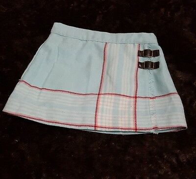 Janie and Jack Baby Girls Plaid Skirt Size 12-18 Months