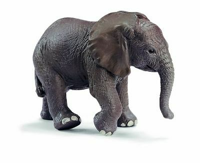 Schleich Wild Animals 14322 - African Elephant Calf (Discontinued) - New!