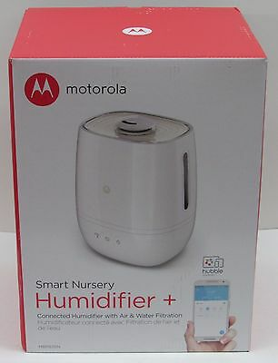 NEW Motorola Smart Nursery Humidifier + WiFi Capable SmartPhone Control for Baby