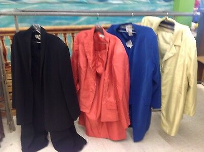 Size 24 Women's Suits Lot