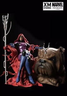 Xm Studios Medusa And Lockjaw Inhumans 1:4 Scale Statue MIB Not Sideshow