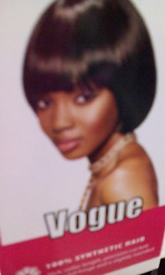 Sleek Vogue Synthetic Wig  with cap New Boxed
