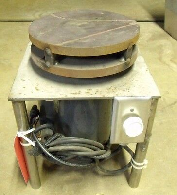 Welding Turntable Positioner  Baldor 1/3 HP Machine Shop Tool Free Shipping