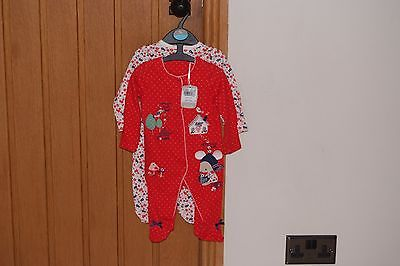 Baby Girls BNWT TU Babygrows X 2 - Age Up to 3 months