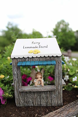 Miniature Dollhouse FAIRY GARDEN - Lemonade Stand (No Fairy) - Accessories